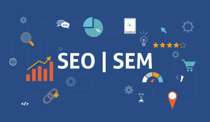 การตลาดแบบ SEO และ SEM แตกต่างกันอย่างไร